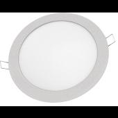 Светильник светодиодный встраиваемый ультратонкий NLP-R1-18W-R240-840-SL-LED 1300lm 40000h серебро 94349 Navigator