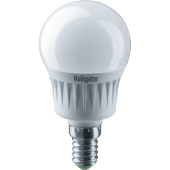 Лампа светодиодная шар Navigator 94476 NLL-P-G45-5-230-2.7K-E14