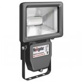 Прожектор светодиодный пылевлагозащищенный - Navigator NFL-P-20-4K-BL-IP65-LED 1350lm 30000h черный - 94613