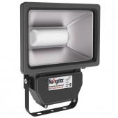 Прожектор светодиодный пылевлагозащищенный - Navigator NFL-P-50-4K-BL-IP65-LED 3400lm 30000h черный - 94641