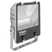 Прожектор светодиодный пылевлагозащищенный - Navigator NFL-AM-100-5K-GR-IP65-LED 7200lm 40000h cерый - 94748