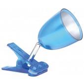 Лампа настольная светодиодная на прищепке NDF-C003-3W-6K-B-LED 200lm 50000h цвет синий 94993 Navigator