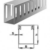 Короб ПВХ перфорированный 30х50мм, 2м