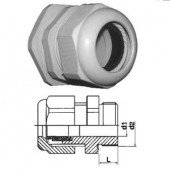 Кабельный зажим с удлиненной резьбой и уплотнителем, 7