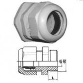 Кабельный зажим с удлиненной резьбой и уплотнителем, 21