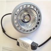 Лампа светодиодная черная KOD-AR111-COB12 12W 220V G53 3200K KOD