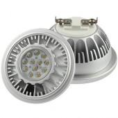Лампа светодиодная хром KOD-AR111-OSL20 20W 220V G53 4200K KOD