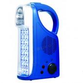 Фонарь аккумуляторный светодиодный+ радио WT293 WATC (Китай)