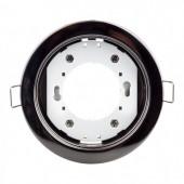 Светодиодный встраиваемый точечный светильник GX53 Черный-Хром Bellson