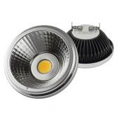 Лампа светодиодная черная KOD-AR111-COB12 12W 220V G53 4200K KOD