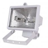 Прожектор под галогенную лампу, 500Вт, белый  FLOOD 500H IP44 ELECTRUM