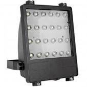 Прожектор светодиодный 24Вт, 2700К, черный E.NEXT