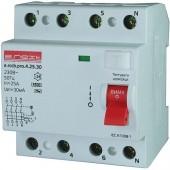Выключатель дифференциального тока, 4р, 25А, 100мА (pro)