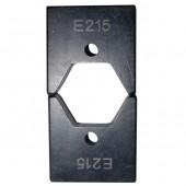 Матрица Е215 для опрессовки изолированных гильз к инструменту 16-300 мм.кв.