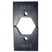 Матрица Е215 для опрессовки изолированных гильз к инструменту 4-150 мм.кв.