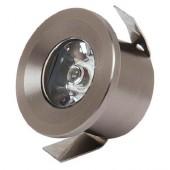 Светильник светодиодный 1Вт 2700K HL665L COB LED DOWNLIGHT Хром HOROZ (Турция)