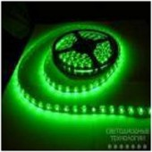 Светодиодная лента 60шт/м SMD 3528 IP33 Зеленая Motoko