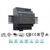 Блок питания Mean Well на DIN-рейку 100W DC24V (HDR-100-24N)