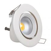 Светильник светодиодный 10Вт 6500K HL693L COB LED DOWNLIGHT Белый HOROZ (Турция)