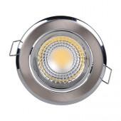Светильник светодиодный 3Вт 6500K HL698L COB LED DOWNLIGHT Матовый хром HOROZ (Турция)