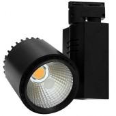 Светильник светодиодный для трековых систем KOD-D30A 3200K черный KOD