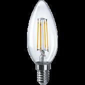 Лампа светодиодная свеча NLL-F-C35-4-230-4K-E14 Navigator - 61339