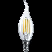 Лампа светодиодная пламя NLL-F-FC35-6-230-2.7K-E14 Navigator - 61355
