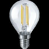 Лампа светодиодная шар NLL-F-G45-4-230-4K-E14 Navigator - 61342