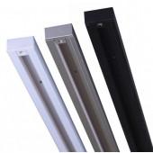 Токоведущий шинопровод 3м 1-фазный, (белый, серый, черный) HOROZ Electric