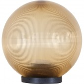 Светильник типа Шар призматический золотой, D200, Е27 ELECTRUM