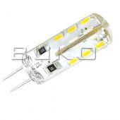 Лампа светодиодная капсульная WT222 JC SMD LED G4 12V 1,5W 6000К стеклянный корпус WATC (Китай)