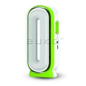 ТЕХНИЧЕСКИЕ ХАРАКТЕРИСТИКИ: Модель: WT4102 Напряжение: DC 5В / USB 5В Мощность: 15 Вт Источник света: светодиоды высокой мощности Тип аккумулятора: 4В 1600 мAч кислотно-свинцовый аккумулятор+ солнечная панель Время зарядки: 5-8 часов Время работы от аккум
