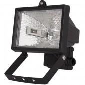 Прожектор под галогенную лампу, 150Вт, черный