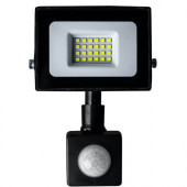 Прожектор светодиодный LED 20W ultra 6400K IP65 с датчиком движения ONE LED