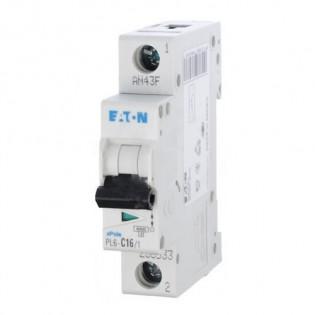 Автоматический выключатель PL6-C10/1, 6kA, 1p, 10A MOELLER-EATON