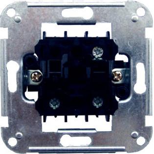 Механизм выключателя двухклавишного 11122