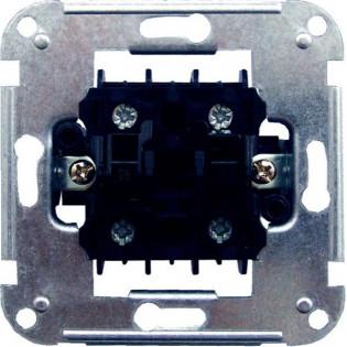 Механизм выключателя одноклавишного двухполюсного 11912