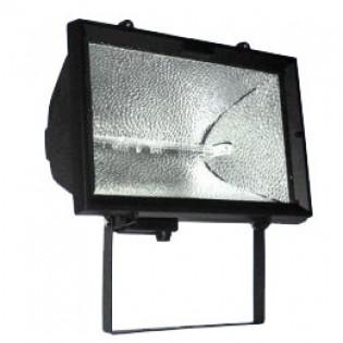 Прожектор под галогенную лампу, 1500Вт, черный