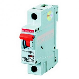 Модульный автоматический выключатель e.industrial.mcb 10кА, 1p, C, 63А E.NEXT