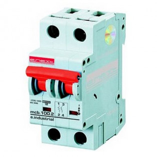 Модульный автоматический выключатель e.industrial.mcb 10кА, 2p, C, 25А E.NEXT