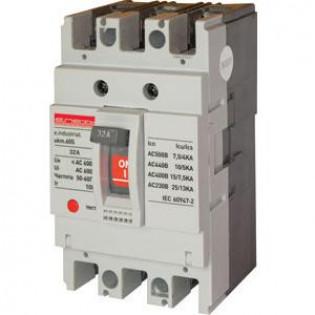 Силовой автоматический выключатель e.industrial.ukm.100S.100, 3р, 100А E.NEXT