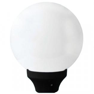 АНТИВАНДАЛЬНЫЙ светильник типа Шар опаловый, D400, Е27