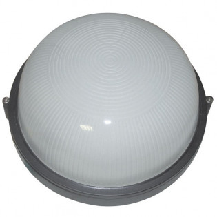 Светильник влагозащищенный 1301, 100W, черный