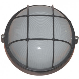 Светильник влагозащищенный 1303, 60W, черный