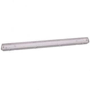 Светильник люминесцентный с прозрачным плафоном, 1х20Вт