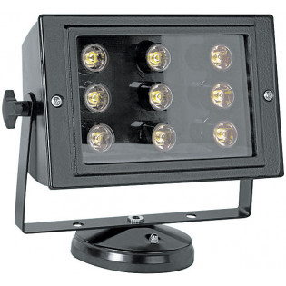 Прожектор светодиодный 9Вт, 6500К, черный, E.NEXT