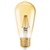Лампа светодиодная 1906 LEDISOND 6,5W/824 230V FIL GOLD E27 OSRAM - 4052899972360