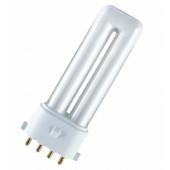 Лампа люминесцентная компактная OSRAM DULUX S/E - 11W/830 900lm 2G7 3000K - 4050300589374