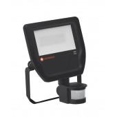 Прожектор светодиодный с датчиком движения FLOOD 20W/4000K BK 100DEG S IP65 LEDVANCE 4058075143555