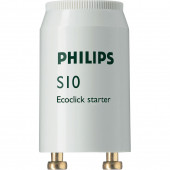 Стартер для люминесцентных ламп - Philips Ecoclick StartersS10 220-240V 4-65W - 928392220229